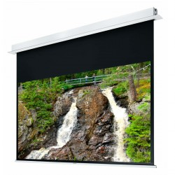 "Liberty Grandview 94"" (16:10) Hidetech Series Recessed Ceiling Motorized Screen without Trap Bar"