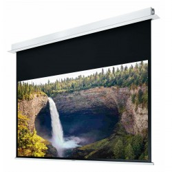 """Liberty Grandview 110"""" (2.35:1) Hidetech Series Recessed Ceiling Motorized Screen without Trap Bar"""