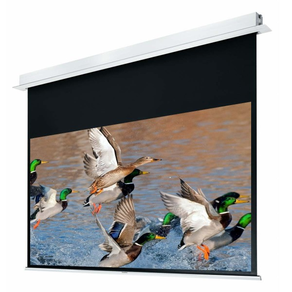 """Liberty Grandview 120"""" (2.35:1) Hidetech Series Recessed Ceiling Motorized Screen without Trap Bar"""