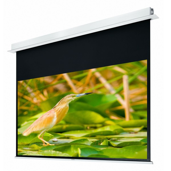 """Liberty Grandview 130"""" (2.35:1) Hidetech Series Recessed Ceiling Motorized Screen without Trap Bar"""