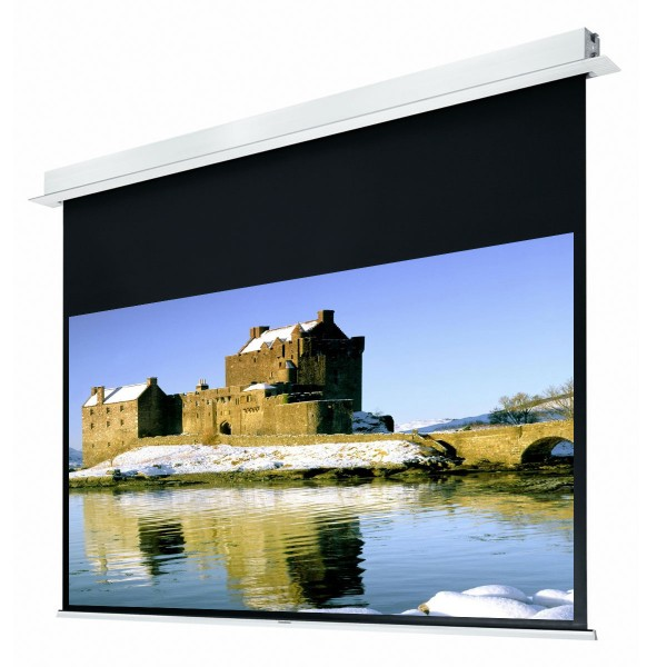 """Liberty Grandview 140"""" (2.35:1) Hidetech Series Recessed Ceiling Motorized Screen without Trap Bar"""