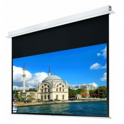 """Liberty Grandview 150"""" (2.35:1) Hidetech Series Recessed Ceiling Motorized Screen without Trap Bar"""