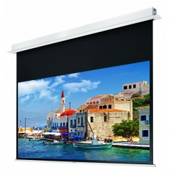 """Liberty Grandview 160"""" (2.35:1) Hidetech Series Recessed Ceiling Motorized Screen without Trap Bar"""