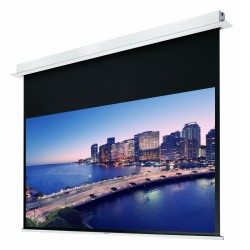 """Liberty Grandview 170"""" (2.35:1) Hidetech Series Recessed Ceiling Motorized Screen without Trap Bar"""