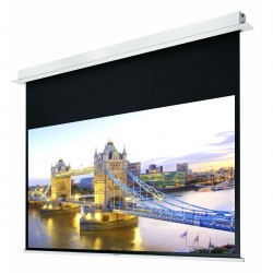 "Liberty Grandview 82"" (16:10) Hidetech Series Recessed Ceiling Motorized Screen without Trap Bar"