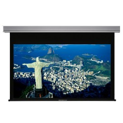 """Liberty Grandview 77"""" (16:9) Cyber Series Recessed Ceiling Motorized Screen with Matte White"""