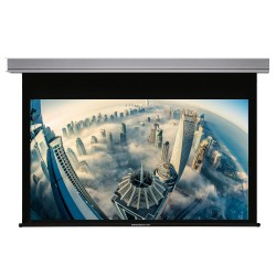 """Liberty Grandview 94"""" (16:10) Cyber Series Recessed Ceiling Motorized Screen with Matte White"""