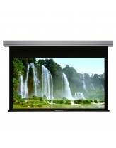 "Liberty Grandview 113"" (16:10) Cyber Series"" Recessed Ceiling Motorized Screen with Matt White"