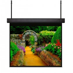 """Liberty Grandview Skyshow Screen 160"""" (2.35:1) Model D With Matt White Fabric (Including Woodencrate)"""