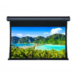 """Liberty Grandview 77"""" (16:9) Cyber Series Tab-Tension Screen with HD Matte White"""