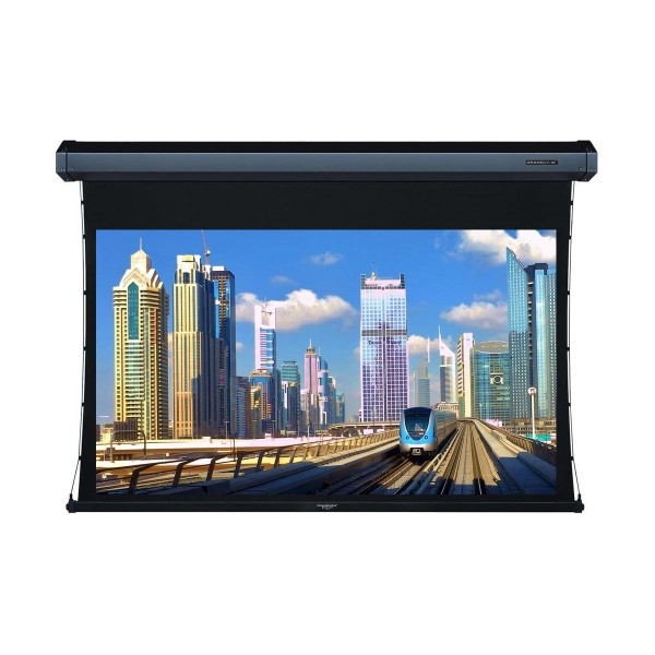 """Liberty Grandview 77"""" (16:9) Cyber Series Tab-Tension Screen with Acoustic Weaved"""