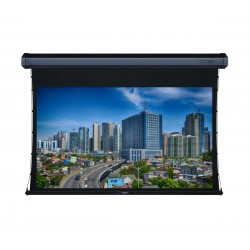 """Liberty Grandview 100"""" (16:9) Cyber Series Tab-Tension Screen with HD Matte White"""