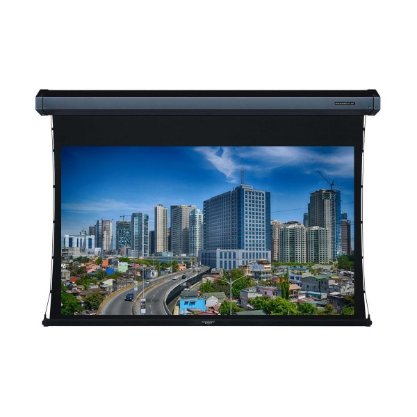 "Liberty Grandview 100"" (16:9) Cyber Series Tab-Tension Screen with HD Matte White"