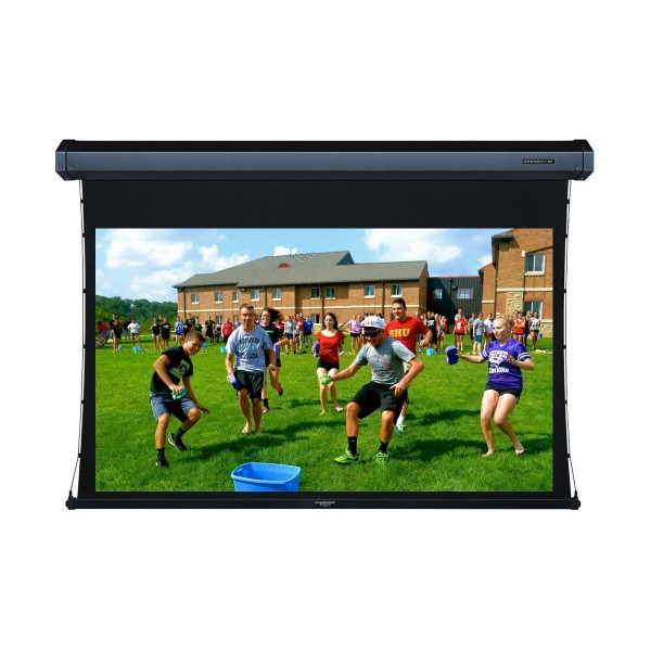 "Liberty Grandview 100"" (16:9) Cyber Series Tab-Tension Screen with Acoustic Weaved"