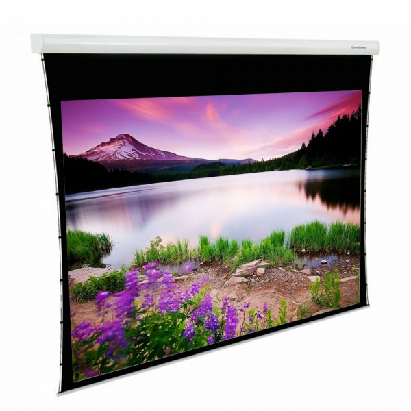 "Liberty Grandview (5'X7')100"" (4:3) Fancy Motorized Tab-Tension Screen"