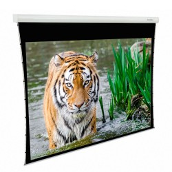 "Liberty Grandview 140"" (2.35:1) Fancy Motorized Tab-Tension Screen"