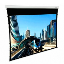 "Liberty Grandview 132"" (2.35:1) Fancy Motorized Tab-Tension Screen"