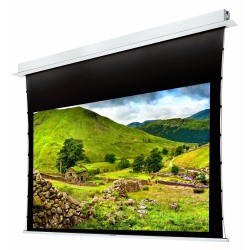 "Liberty Grandview 77"" (16:9) Hide Tech Recessed Tab-Tension Screen Without Trap Door"