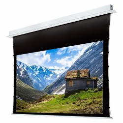 "Liberty Grandview 92"" (16:9) Hide Tech Recessed Tab-Tension Screen Without Trap Door"