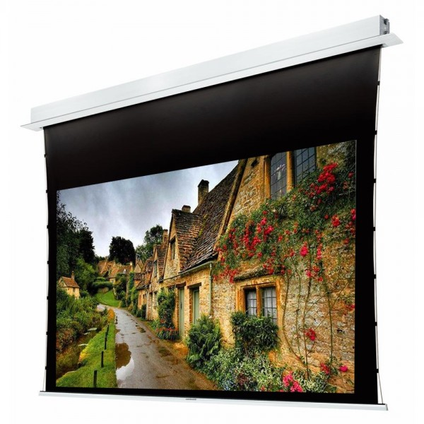 "Liberty Grandview 100"" (16:9) Hide Tech Recessed Tab-Tension Screen Without Trap Door"
