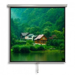 "Liberty Vega Juno 100"" (5'x7') (4:3)  Manual Instalock Screen"