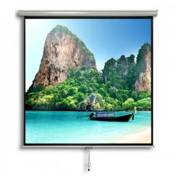 "Liberty Vega Juno 120"" (6'x8') (4:3) Manual Instalock Screen"