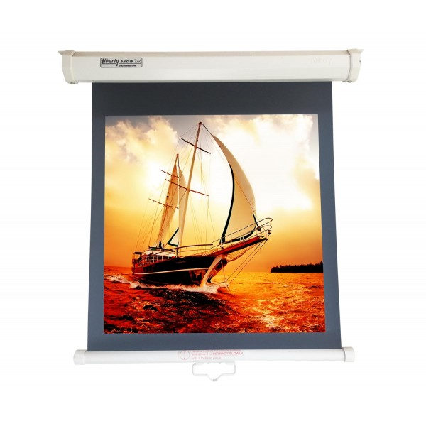 "Liberty Vega Juno 84"" (6'x4') (4:3)  Manual Instalock Screen"