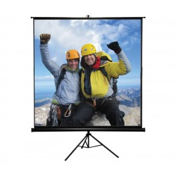"Liberty View Compact Tripod Screen 84"" - Video Format"