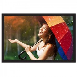 "Liberty Vega 110""  (4.5'x8') (16:9) Fixed Frame Screen Matte White"