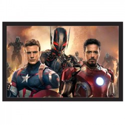 "Liberty Vega 133"" (16:9) Cineplus Fixed Frame Woven Acoustic Screen"