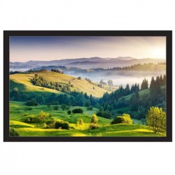 "Liberty APLUS (Formerly Vega)  97"" (4 'x7') (16:9) Fixed Frame Screen Matte White"