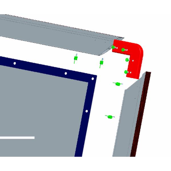 "Liberty APLUS (Formerly Vega)  120"" (5'x9')  (16:9) Fixed Frame Screen Matte White"