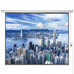 "Liberty Vega Show 250"" (16:9) Giant Engineering Motorized Screen"