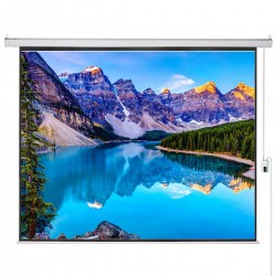 "Liberty Vega Show 300"" (16:9) Giant Engineering Motorized Screen"