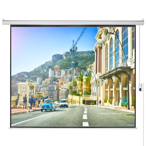 "Liberty Vega Show 400"" (4:3) Giant Engineering Motorized Screen"