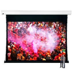 "Liberty Vega Show 250"" (16:10) Giant Tension Engineering Motorized Screen With 4 In 1 Remote Control"