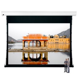 "Liberty Vega Show 250"" (16:9) Giant Tension Engineering Motorized Screen With 4 In 1 Remote Control"