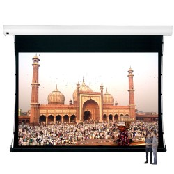 "Liberty Vega Show 250"" (4:3) Giant Tension Engineering Motorized Screen With 4 In 1 Remote Control"