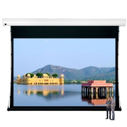 "Liberty Vega Show 300"" (16:9) Giant Tension Engineering Motorized Screen With 4 In 1 Remote Control"