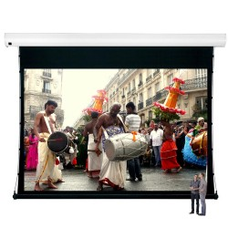 "Liberty Vega Show 300"" (4:3) Giant Tension Engineering Motorized Screen With 4 In 1 Remote Control"