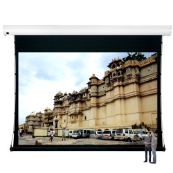 "Liberty Vega Show 350"" (16:10) Giant Tension Engineering Motorized Screen With 4 In 1 Remote Control"