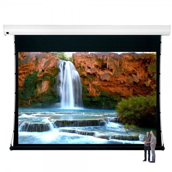 "Liberty Vega Show 350"" (4:3) Giant Tension Engineering Motorized Screen With 4 In 1 Remote Control"