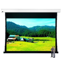 "Liberty Vega Show 400"" (16:10) Giant Tension Engineering Motorized Screen With 4 In 1 Remote Control"
