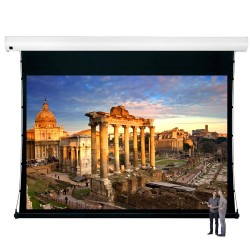 "Liberty Vega Show 400"" (16:9) Giant Tension Engineering Motorized Screen With 4 In 1 Remote Control"