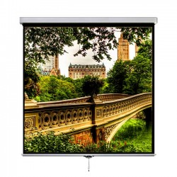 "Liberty Vega 120"" (4.9'x8.75') (16:9) Manto Instalock Screen"