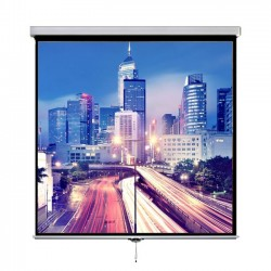 "Liberty Vega 150"" (8'x10') (4:3) Manto Instalock Screen"
