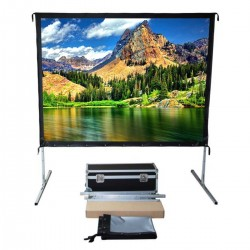 "Liberty Vega Show 94"" (16:10) Easy Fold Portable Screen with Wide Format"