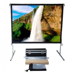 "Liberty Vega Show 113"" (16:10) Easy Fold Portable Screen with Wide Format"