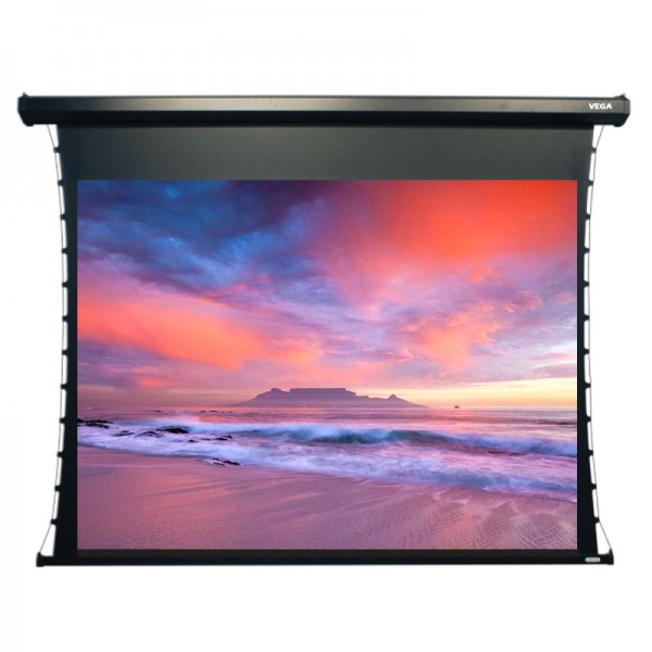 "Liberty Vega Show Hermes Tab-tensioned Screen 84""(16:9) HDTV Format"