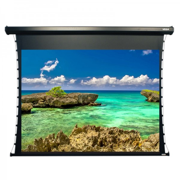 "Liberty Vega Show Hermes Tab-tensioned Screen 100""(16:9) HDTV Format"